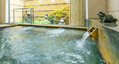Hida Takayama's natural hot spring that is gentle and smooth on the skin